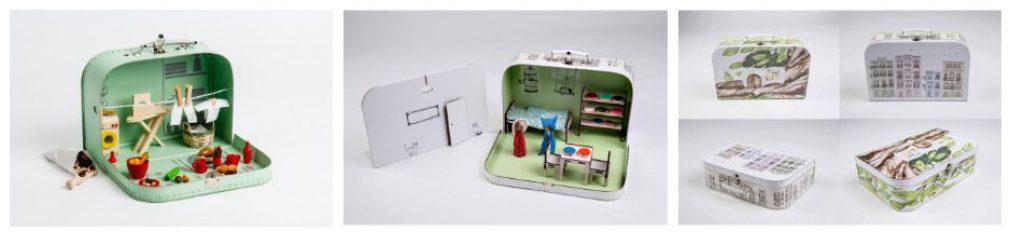 Kufříkov - nádherný nápad na mobilní hračku