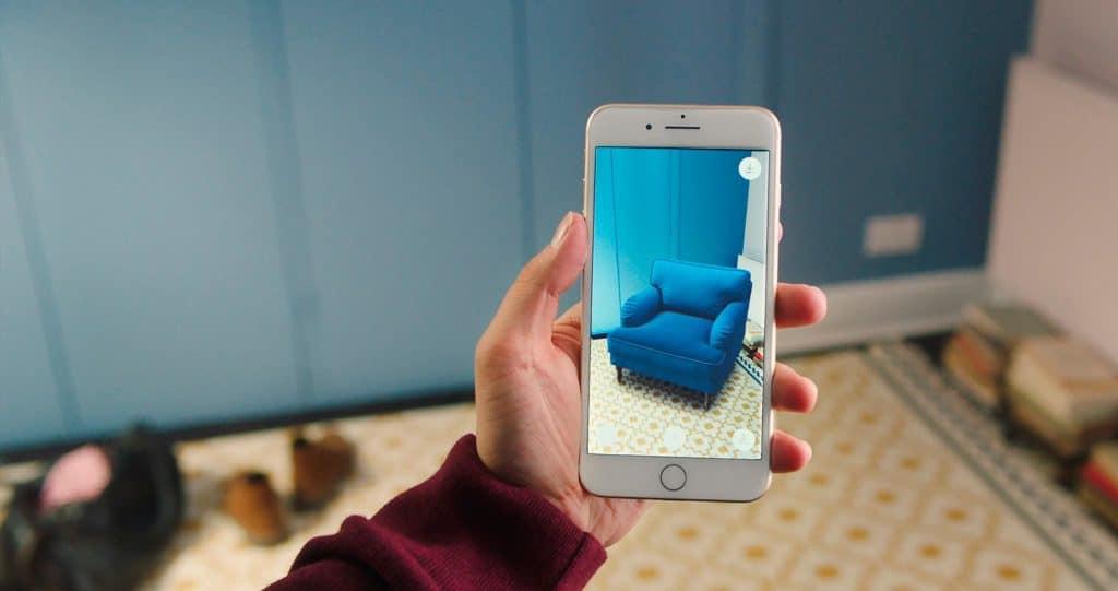 Rozšířená reality od IKEA