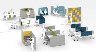 Jak vyřešit akustiku v kanceláři? Inspirujte se u specialistů