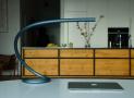 Squiggle – podařená stolní lampa z Kickstarteru