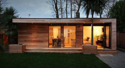 Zahradní studio – moderní bydlení pro nenáročné