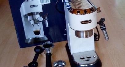 Víme, jakou kávu vaří kávovar DeLonghi DEDICA EC 685.W